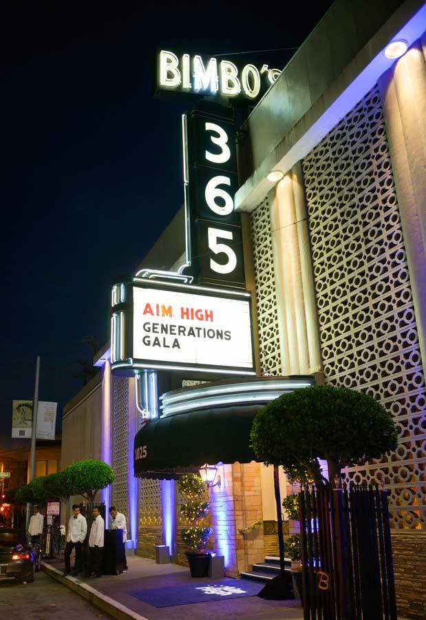 2013 Social Gala Bimbos 365 Club San Francisco, CA