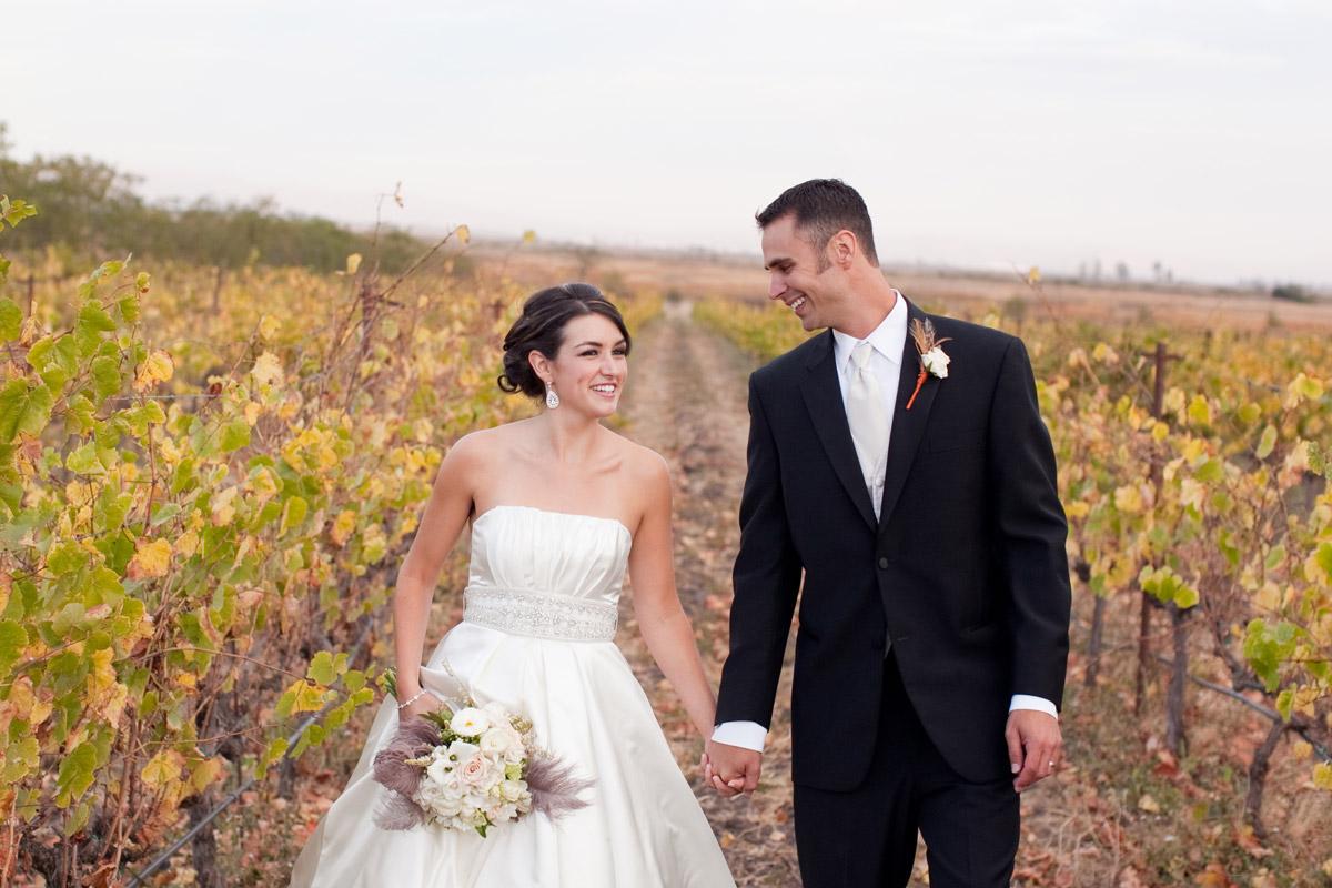 Ashley & Nick, Jacuzzi Family Vineyards, Sonoma CA