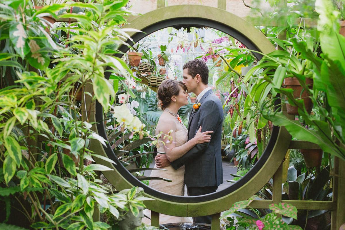 Nori & Jack, Conservatory of Flowers, San Francisco CA
