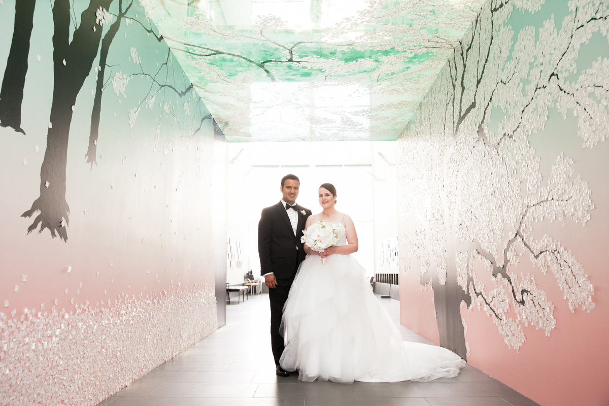 Sarah & Jeremy, Asian Art Museum San Francisco, CA